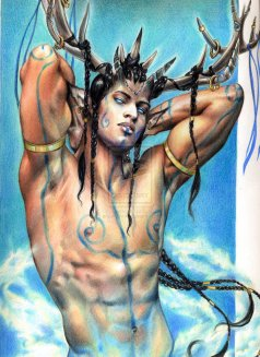 cerumnos_the_horned_god_by_aryundomiel-d3jkgvu